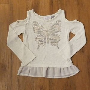 NWOT Childrens place Butterfly top